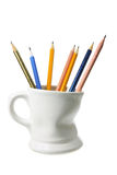 Coffee Mug with Pencils Stock Image