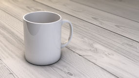 Coffee mug render Stock Photo