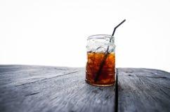 Coffee mug on table Stock Image