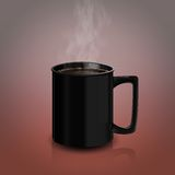 Coffee mug v.1 Royalty Free Stock Image