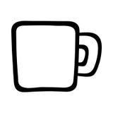 Coffee Mug. A vector illustration of a coffee mug Stock Images