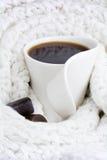 Coffee mug. Warm coffee mug Royalty Free Stock Photography