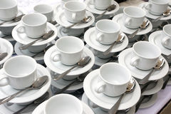 Coffee mugs Stock Images