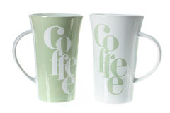 Coffee Mugs Royalty Free Stock Image