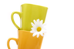Coffee mugs Stock Photos