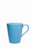 Coffee mugs blue. On a white background Stock Photography