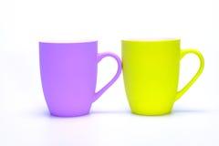 Coffee mugs Stock Image
