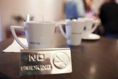 Coffee mugs Stock Images