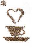 Coffee my love Royalty Free Stock Image