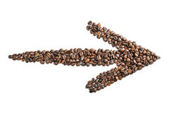 Coffee narrow Royalty Free Stock Image