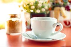 Coffee near the window Stock Image