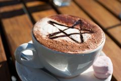 Coffee. New Zealand style Royalty Free Stock Images