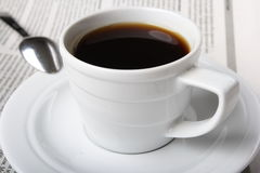 Coffee, news Royalty Free Stock Image