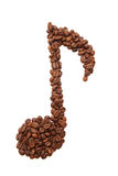 Coffee note Stock Images