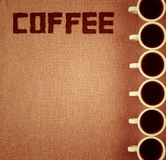 Coffee Notebook. Stock Image