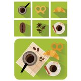 Coffee objects Royalty Free Stock Photography