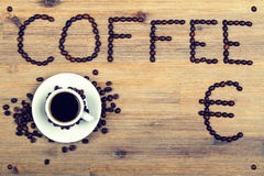 Coffee offer Stock Photos