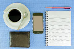 Coffee in the office Royalty Free Stock Photo