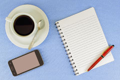 Coffee in the office Royalty Free Stock Photos