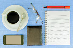 Coffee in the office Royalty Free Stock Photography