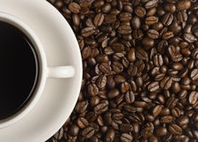 Coffee for one Stock Image