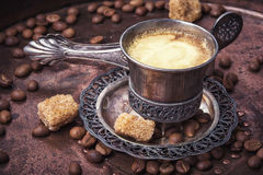 Coffee in the oriental style Royalty Free Stock Photography