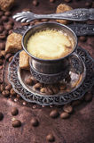 Coffee in the oriental style Stock Images