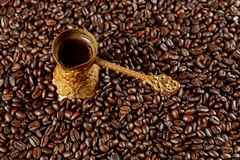 coffee in the oriental style vintage Royalty Free Stock Images