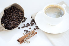 Coffee and other goodies Royalty Free Stock Photography