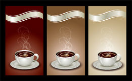 Coffee package set Stock Photos