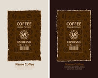 Coffee packing Stock Photos
