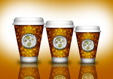 Coffee paper cup Royalty Free Stock Image