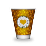 Coffee paper cup Stock Image