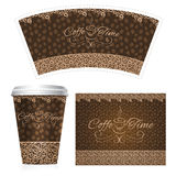 Coffee Paper Cup Royalty Free Stock Photos