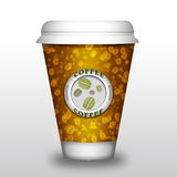 Coffee paper cup Stock Photo