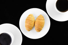 Coffee and Pastries Royalty Free Stock Photo
