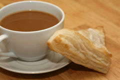 Coffee and pastry Stock Photography