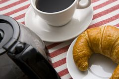 Coffee and Pastry Stock Images