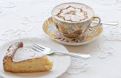 Coffee and pastry Royalty Free Stock Photo