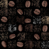 Coffee pattern Royalty Free Stock Image