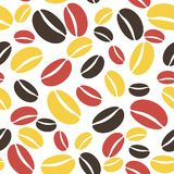 Coffee pattern seamless Royalty Free Stock Image