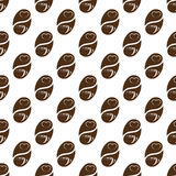 Coffee pattern, seamless pattern design for coffee shop Stock Image