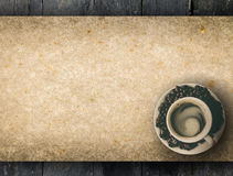 Coffee peper menu stock images