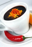 Coffee and pepper Stock Images