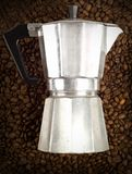 Coffee percolator Royalty Free Stock Photo