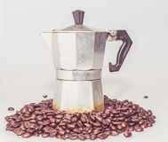 Coffee percolator Stock Photos
