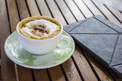 Coffee. This photo are a cup of coffee.Rest from travel also coffee for be fresh Stock Image