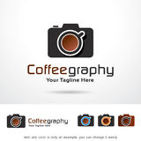 Coffee Photography Logo Template Design Vector Stock Images
