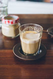 Coffee piccolo latte Stock Photography