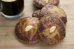 Coffee and Picolientjes Stock Photo
